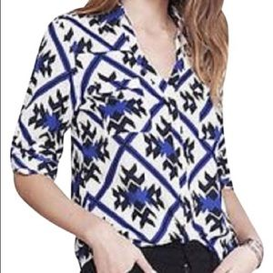 Express portofino Aztec blouse